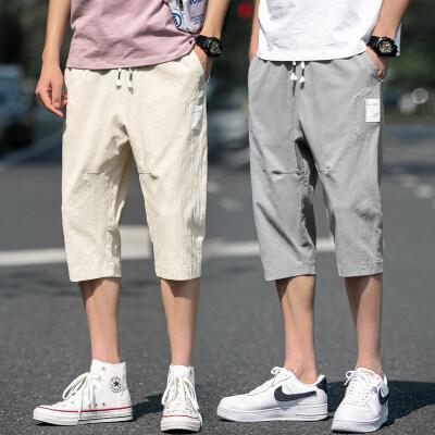 裤子男士夏季韩版潮流男裤宽松帅气休闲短裤 BK314 TP25