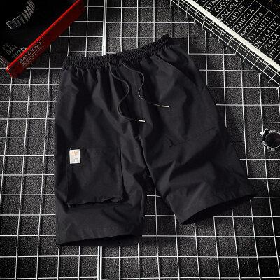 男士短裤夏季潮牌ins宽松五分裤男休闲裤潮流工装裤BK322-TP25