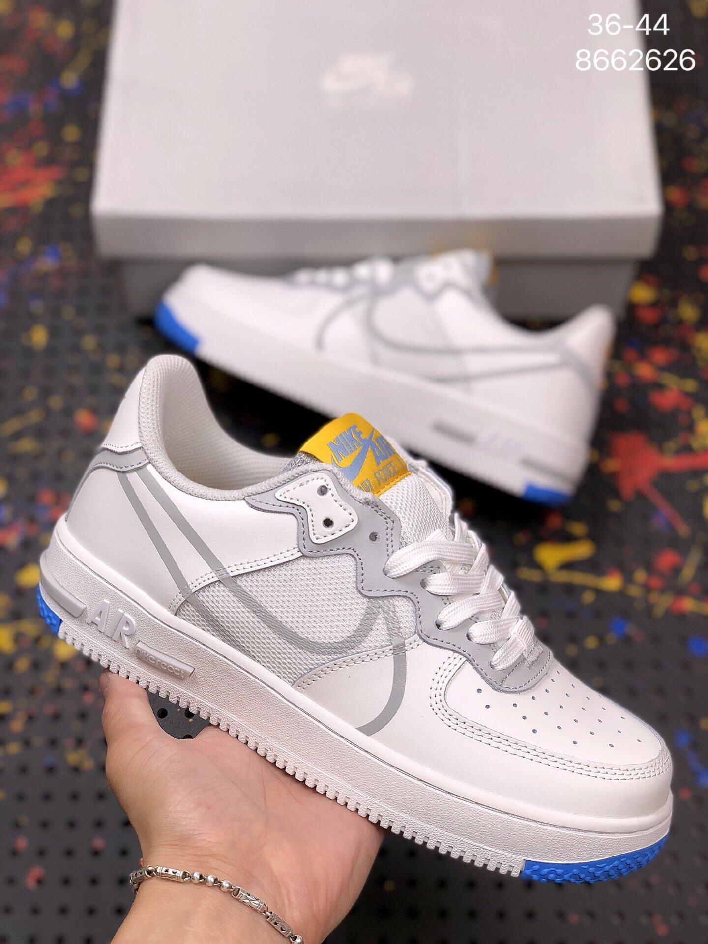 2518空军一号新款低帮系带小白鞋透气男女鞋板鞋 莆田鞋
