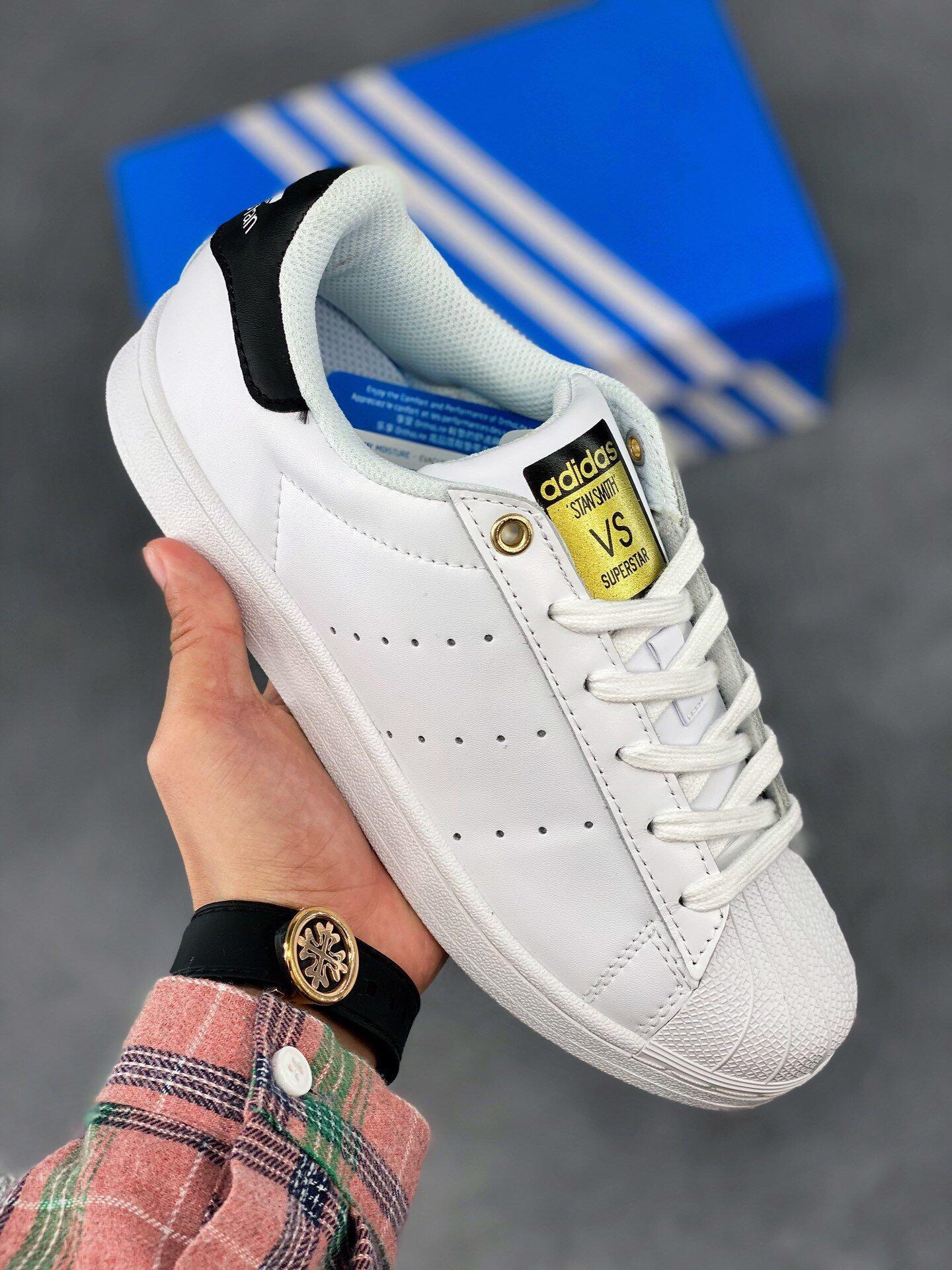 2520夏季新款联名小白鞋低帮系带男女鞋贝壳头经典休闲板鞋 莆田鞋