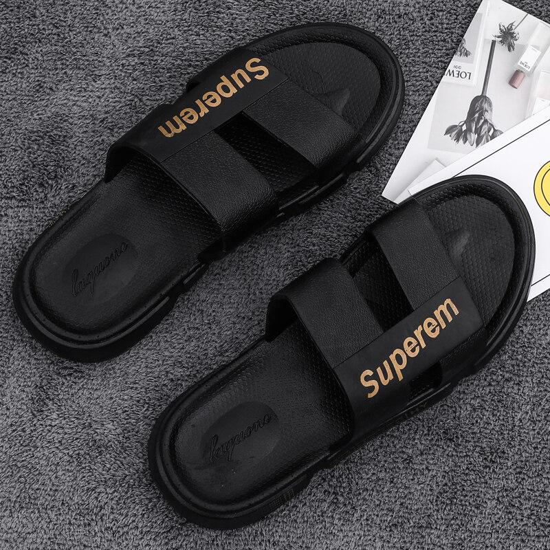 MSL-1.820拖鞋男夏新款时尚休闲韩版沙滩防滑透气一字拖户外男士凉拖鞋