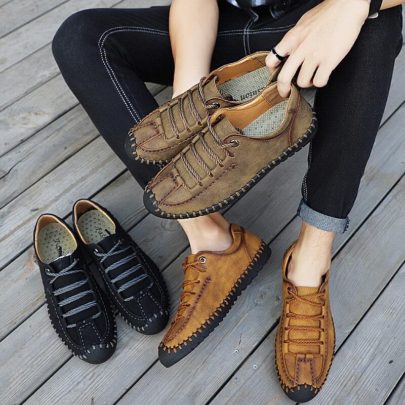 8810{南盛}夏季手工鞋皮鞋大码 跨境 8810 38-48码