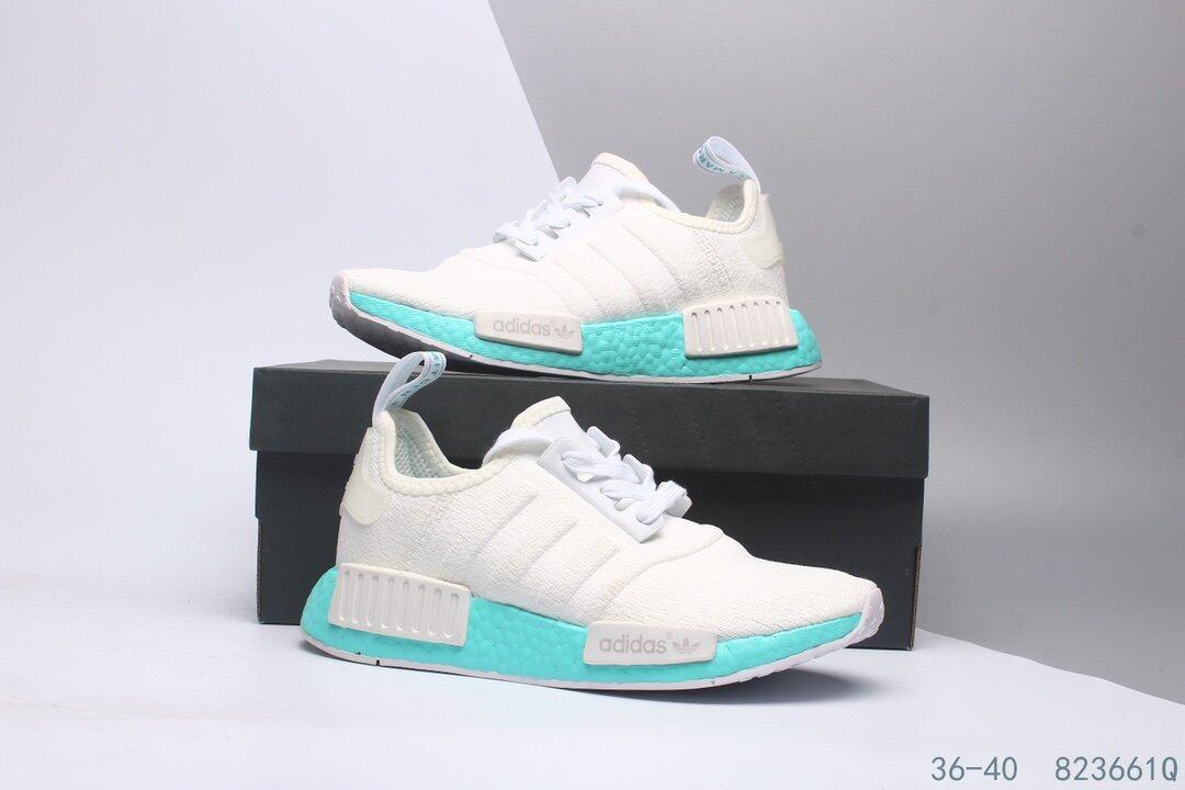 2598夏季新款NMD网面轻便透气小白鞋女鞋系带运动鞋 莆田鞋