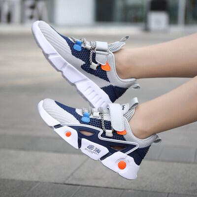 小喇叭2020夏季新款国潮时尚百搭轻质透气儿童潮鞋