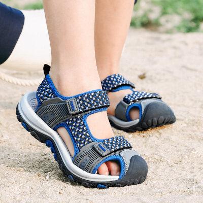 小喇叭2020夏季新款包头凉鞋8108,28-39码
