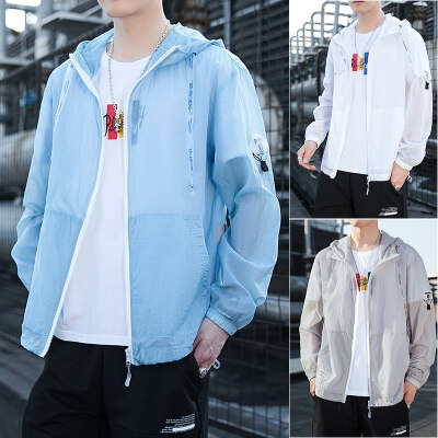 MT-2046防晒衣服男夏季2020新款潮流超薄透气外套春秋