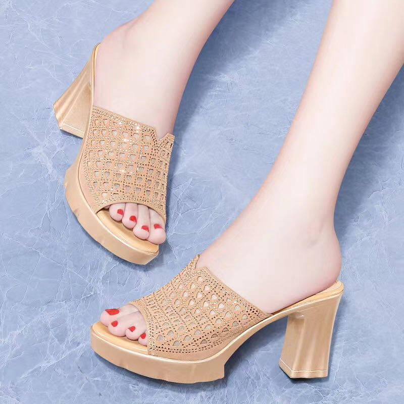 004夏季新款轻便透气女鞋轻熟欧美风厚底增高修身鞋休闲鞋
