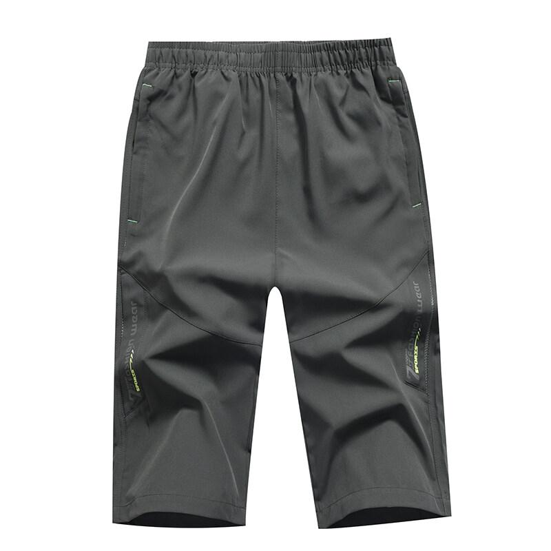 K202020夏季新款 休闲运动大码速干裤 男式七分短裤沙滩裤