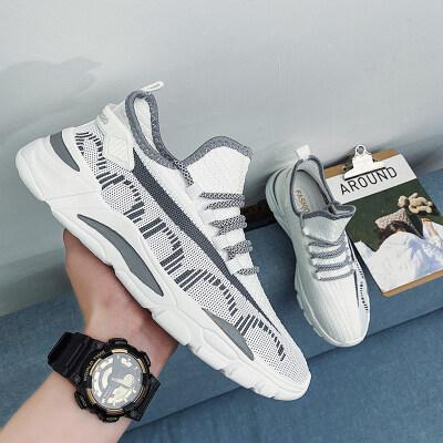 四季梵斯椰子鞋透气飞织潮鞋运动鞋