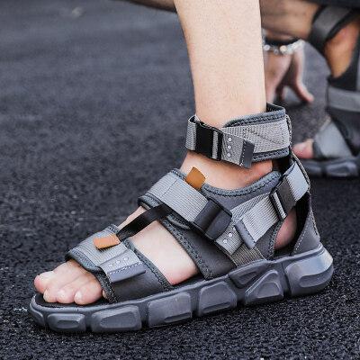 夏季凉鞋高帮