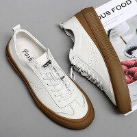 金蚂蚁9963板鞋二层皮38-44标准码 牛筋底小白鞋批85