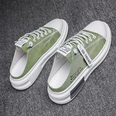 夏阳鞋业-DB606夏季透气潮流半拖板鞋爆款