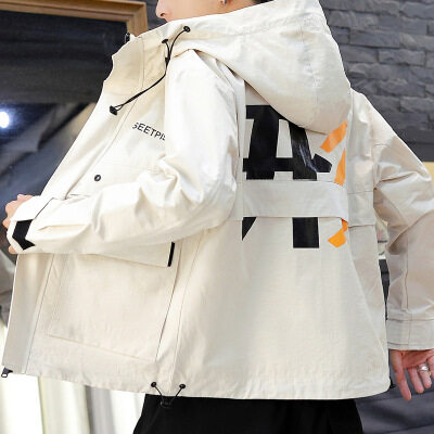 男士外套春秋装2020新款韩版潮流宽松休闲工装夹克男潮牌帅气衣服