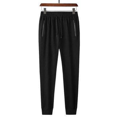 2020秋季新款纯棉高品质运动长裤纯色收口休闲长裤贴牌