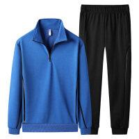 衣朕殿厂家-新款秋季套装男士休闲运动套装男士翻领两件套