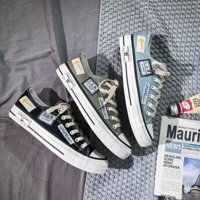 速骏工厂店-2999-批27-男帆布鞋 爆款 自家生产长期有