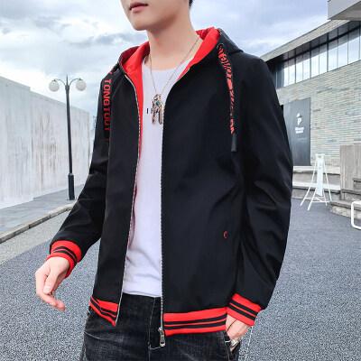 青少年春秋外套男韩版潮流秋装休闲夹克2020新款薄双面穿男装外衣