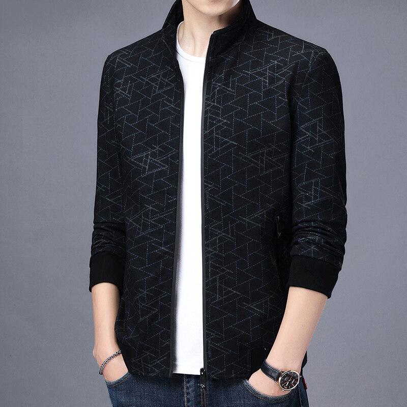 2020新款韩版外套男士秋季薄款夹克潮流帅气百搭工装衣服