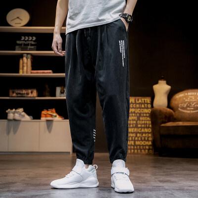 日系-马切达  K2066-P35  100%聚酯纤维  2020秋季新款休闲裤长裤