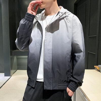 男士外套2020新款潮流秋季韩版帅气运动上衣青年ins夹克