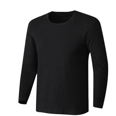 2020新款圆领打底衫大码宽松搭配195纯棉T恤L-5XL