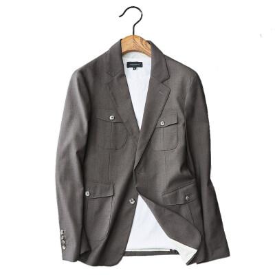 2020西服青年修身四口袋西服男士休闲外套qt6011-X9-p175