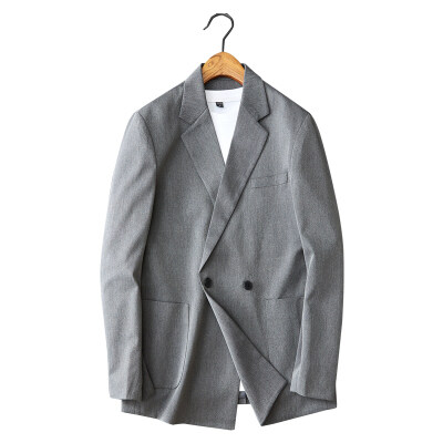 白底图 青年微阔韩版帅气单西上衣男士便西潮个性X21-p170控价270
