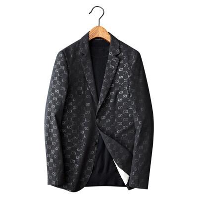 白底图 西服男士修身韩版帅气夹棉西服棉服 薄棉X20-p180控价280