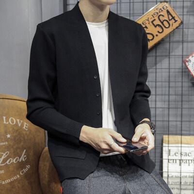 JW128^秋季男士针织衫 开衫毛衣上衣毛线衣外套 控价108