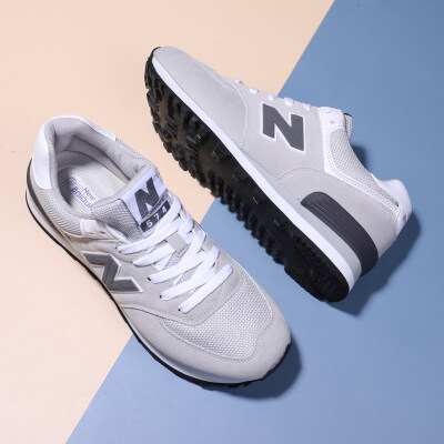 男士跑步鞋网面透气大学生运动鞋防滑耐磨慢跑鞋休闲商务鞋