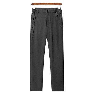 厂家直销外新男款四季弹力冲锋裤防泼水耐磨速干登山长裤