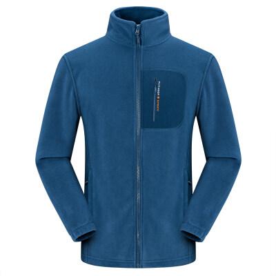 户外抓绒衣男女时尚秋冬季透气防风开衫外套冲锋衣保暖内胆