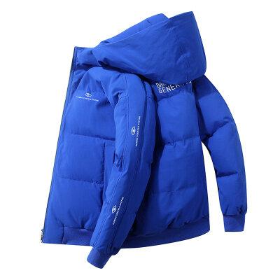 优羽尚2020新款羽绒服男短款潮牌宽松面包服加厚防寒保暖外套