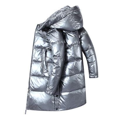 2020新款男装冬季外套羽绒服男中长款潮牌时尚加厚保暖大衣