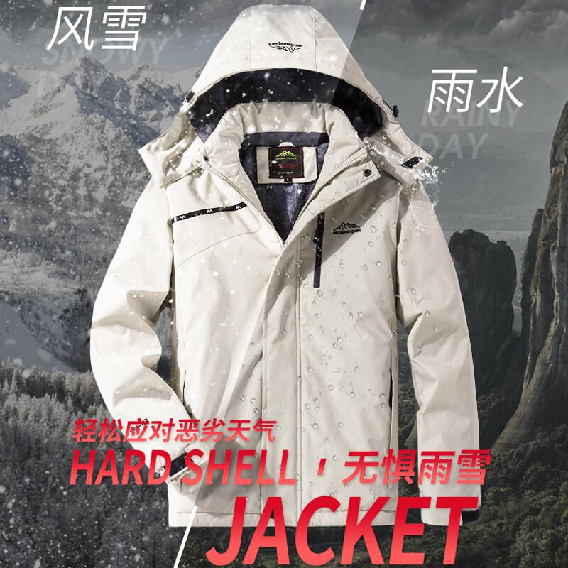 秋季新款高品质情侣款加绒加厚防风防寒户外运动休闲必备外套