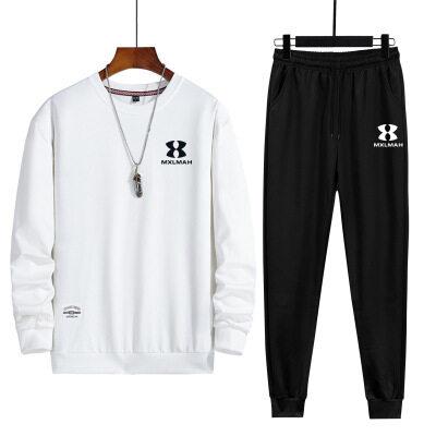 运动套装男秋季休闲男士2020新款潮流卫衣男款青少年男生帅气秋装