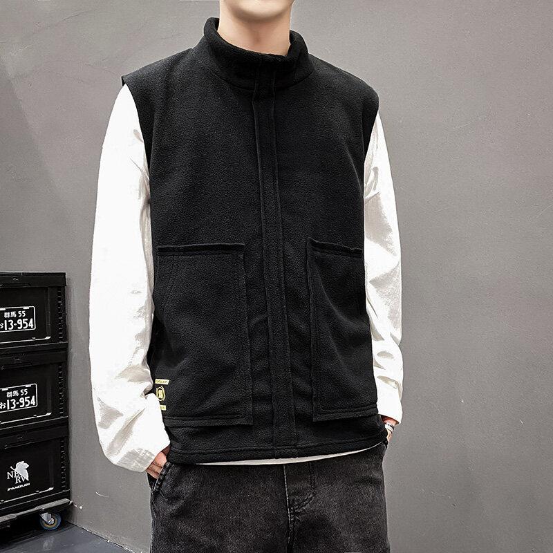 M88款马甲2020青少年潮流户外坎肩休闲春秋保暖马甲韩版外套