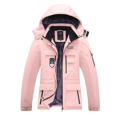 户外冲锋衣男女加绒加厚保暖冬季防寒服防风新款休闲夹克外套