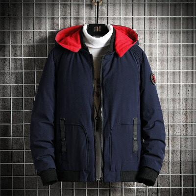 飞利亚棉衣男士冬季2020新款短款羽绒棉服加厚棉袄外套