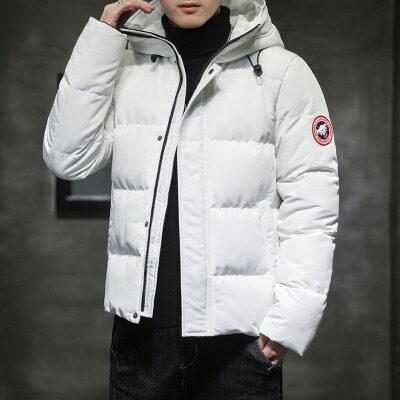飞利亚棉衣男士冬季外套2020新款潮牌韩版连帽加厚保暖羽绒棉