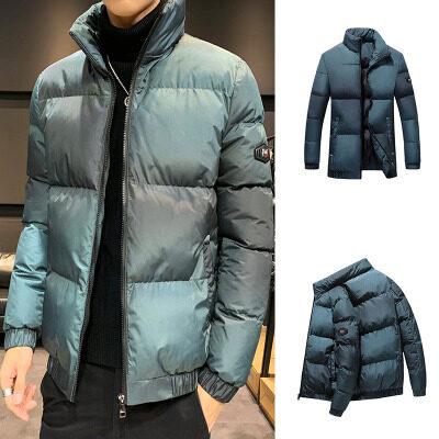 飞利亚男士加厚工装棉衣外套冬季立领短款棉服韩版休闲潮棉