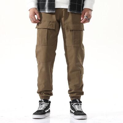 2020秋冬新款男装休闲裤多袋工装裤2070
