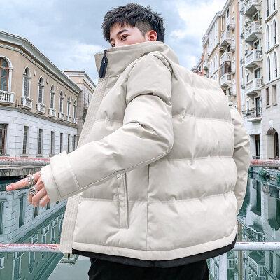 38031秋冬季外套男潮流韩版帅气修身棉衣男士棉袄学生棉衣服
