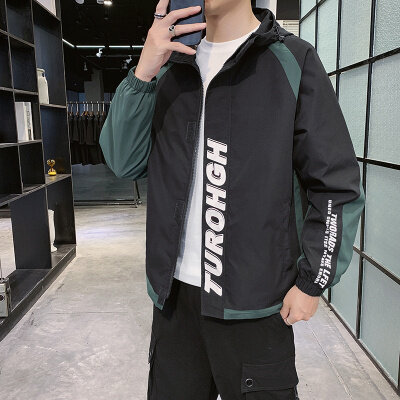 09621秋冬男士外套春季2020新款韩版潮流新款夹克男外套