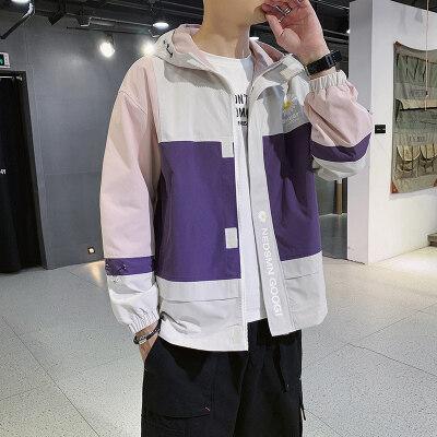 09622秋冬男士外套春季2020新款韩版潮流新款夹克男外套