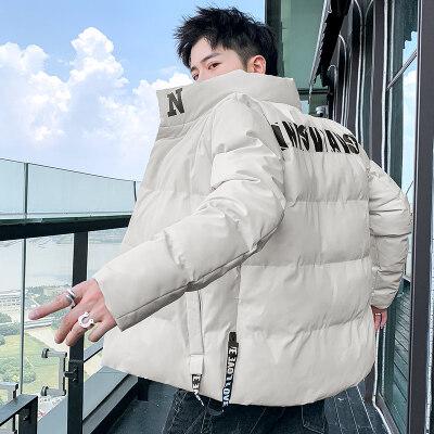 男士外套冬季2020新款棉衣情侣韩版修身潮流短款棉袄工装羽绒