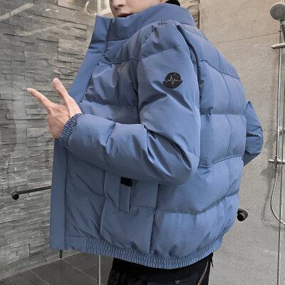 2020新款秋冬季男士棉衣休闲棉服男羽绒服棉袄面包服立领外套