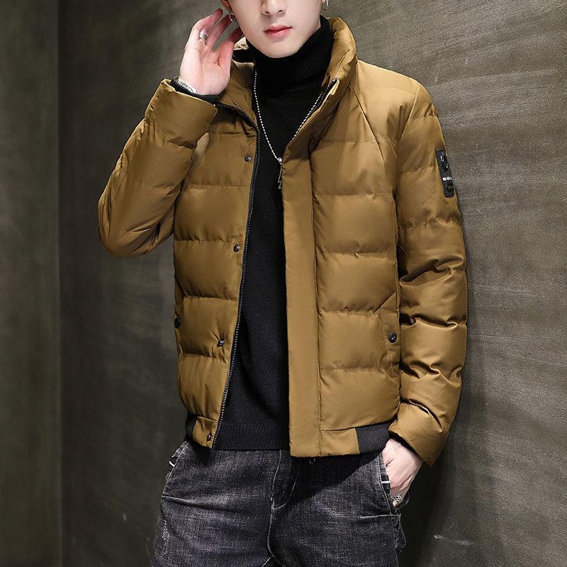 YY1803 男士棉衣2020新款冬季韩版潮流棉服防风加厚外套短款棉袄潮