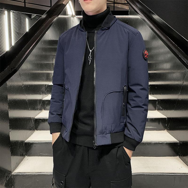 YY1808男士棉衣2020新款冬季韩版潮流棉服防风加厚外套短款棉袄潮