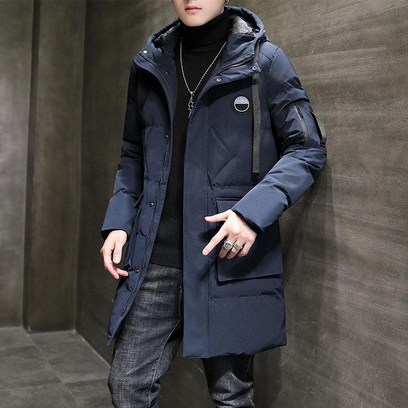 YY1818男士棉衣2020新款冬季韩版潮流棉服防风加厚外套中长款棉袄潮